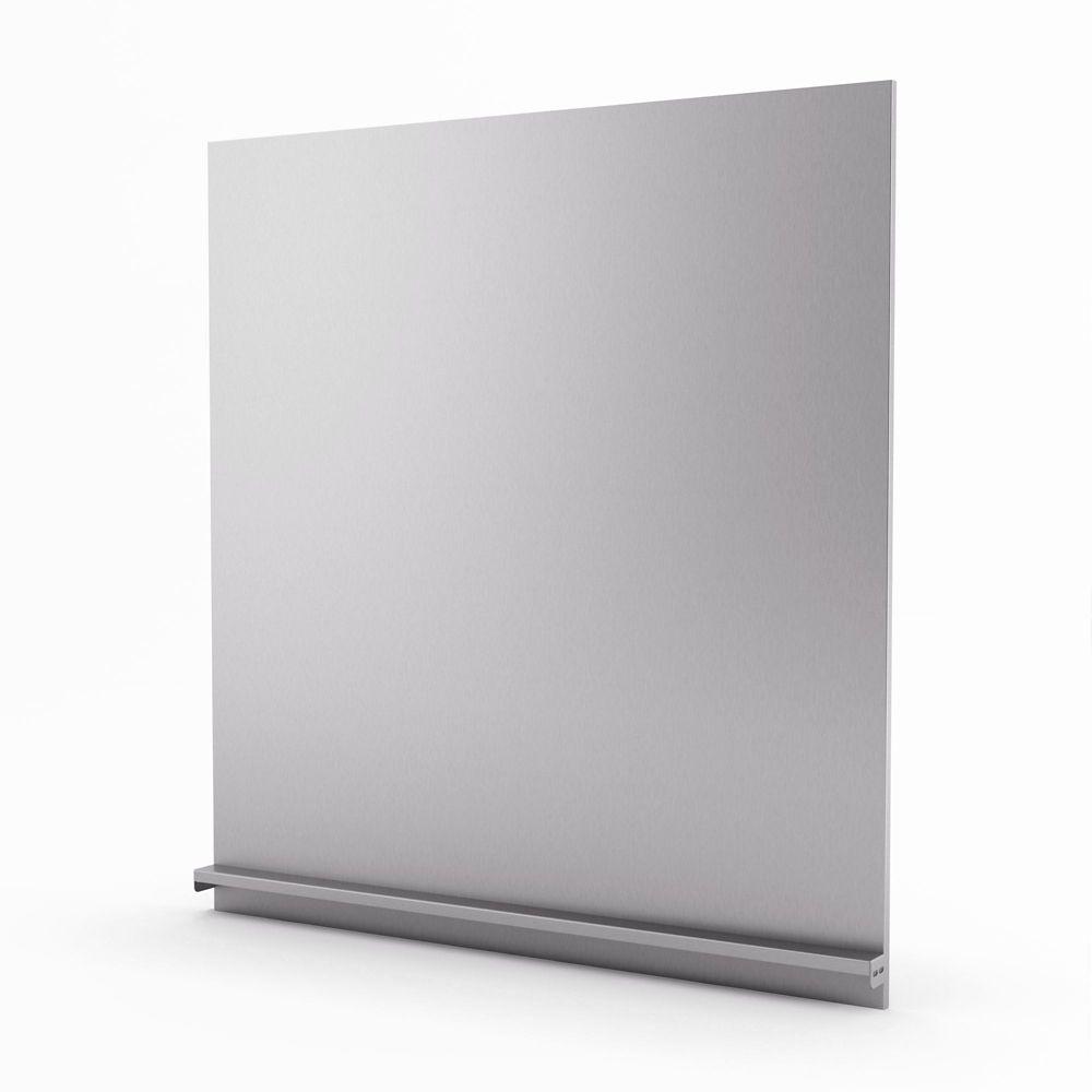 Genesis Real Stainless Steel Backsplash 30 Inches
