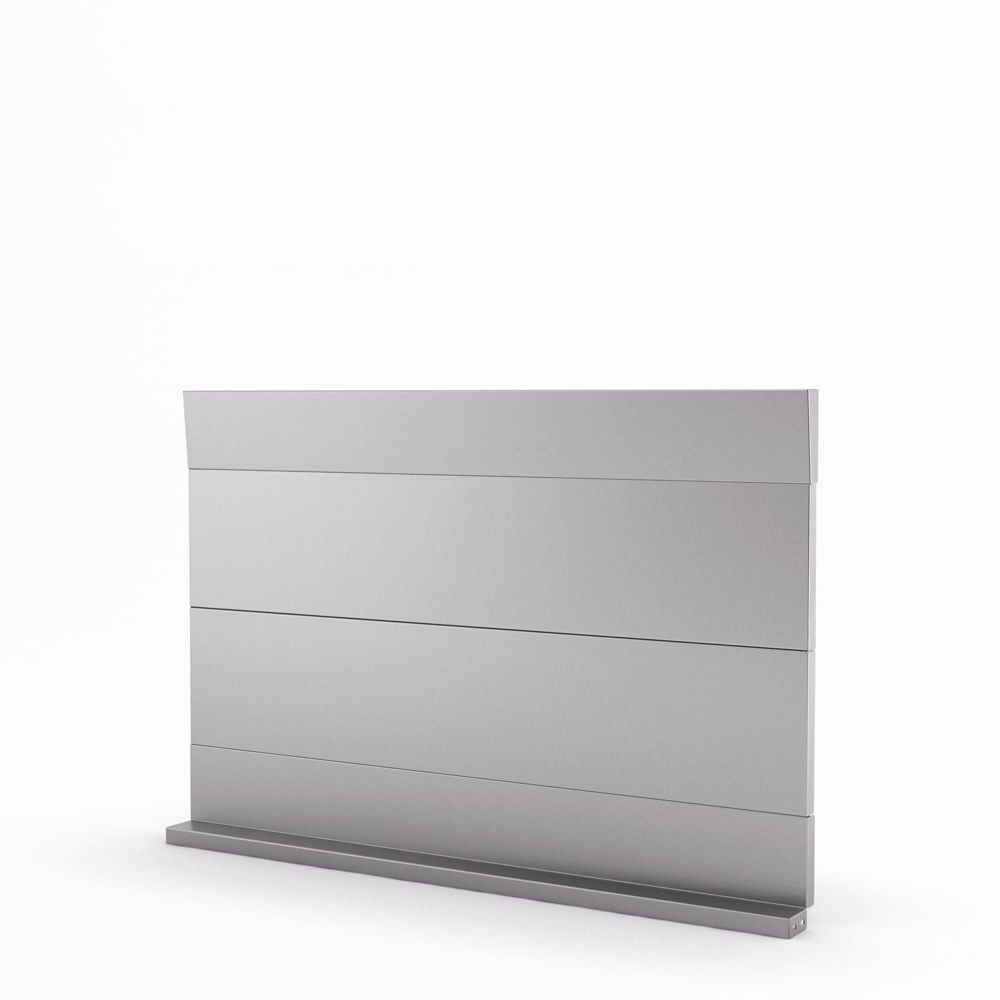 Urbania Real Stainless Steel Backsplash 30 Inches