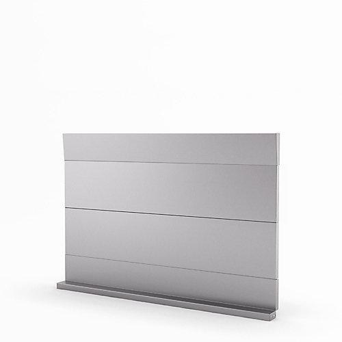 Urbania 30-inch Real Stainless Steel Backsplash