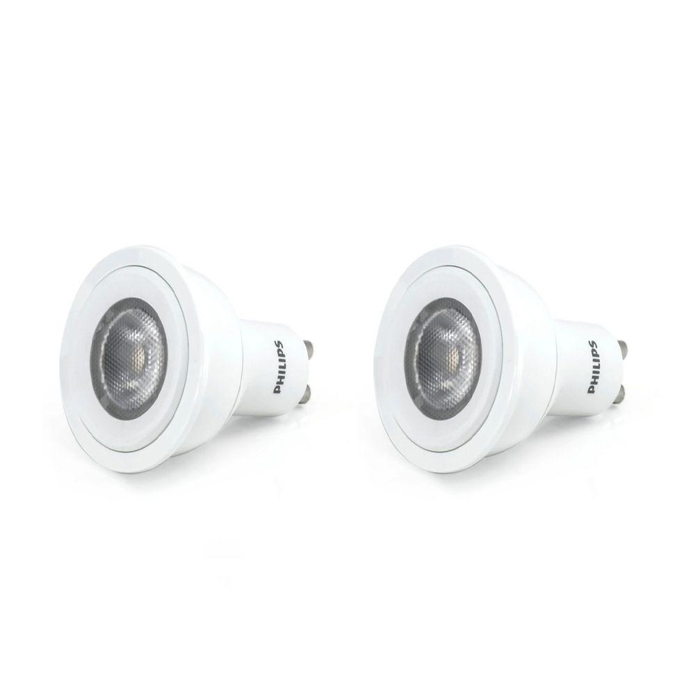 LED 4W GU10 Bright White 2Pk
