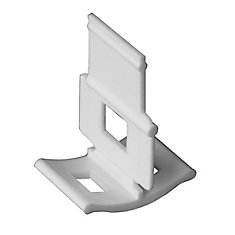 LASH Tile Leveling, Aligning and Spacer Clips Part A (96-Pack)