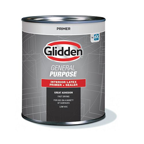 Glidden Interior General Purpose Primer + Sealer 946 mL