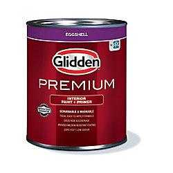 Glidden Premium Interior Paint + Primer Eggshell White 925 mL