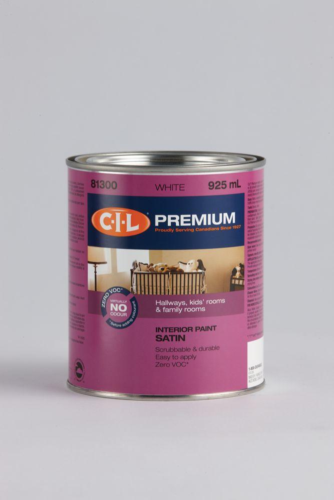 CIL Premium Interior Satin Accent 946ML 5164690 Canada Discount