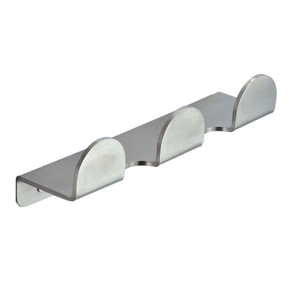 Inoxia Loft Series Stainless Steel Triple Hook