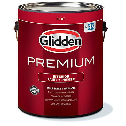 Premium Interior Paint + Primer Flat White 3.7 L