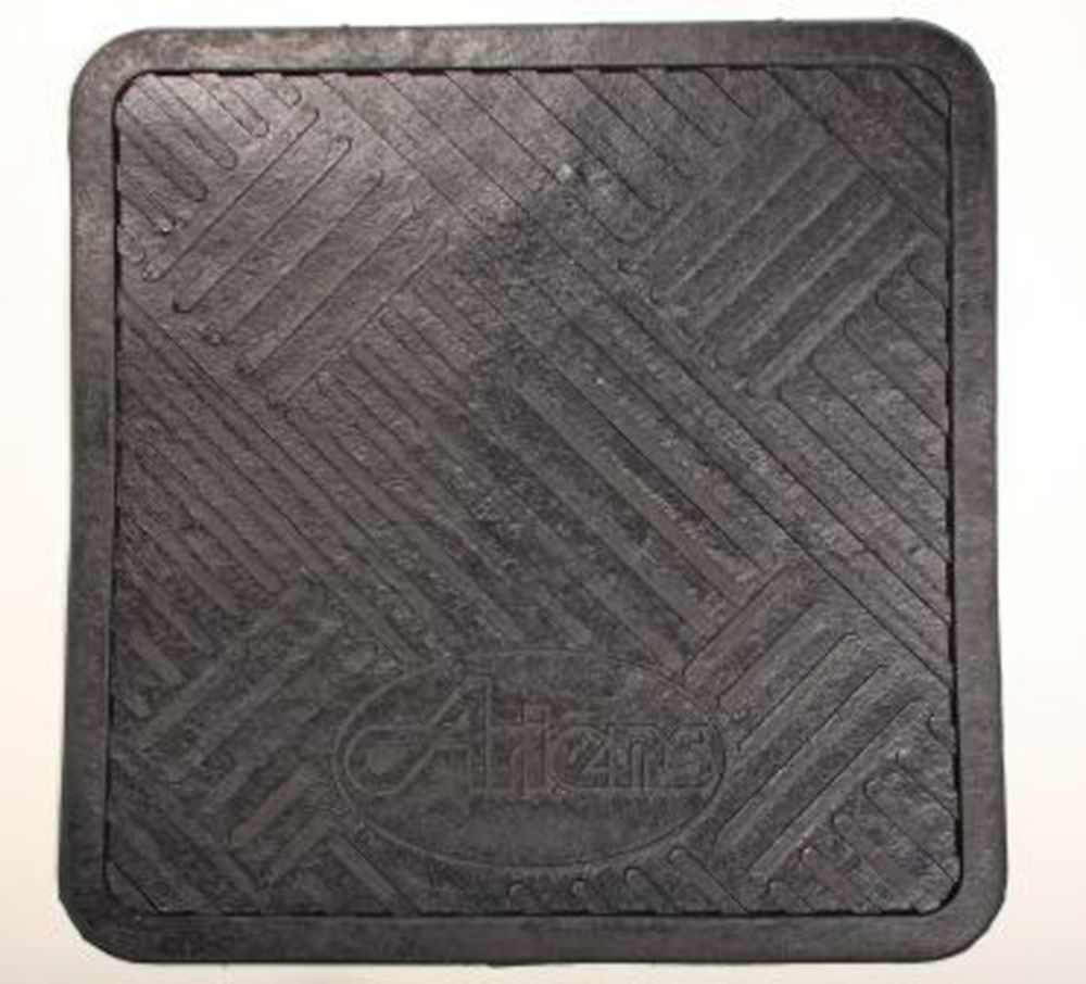36 Inch x 30 Inch Protective Floor Mat for Snow Blowers