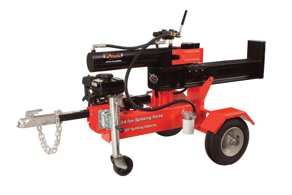 211 cc 34-Ton Gas Log Splitter