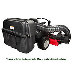 60-inch Powered Bagger for Max Zoom Zero-Turn Riding Lawn Mowers