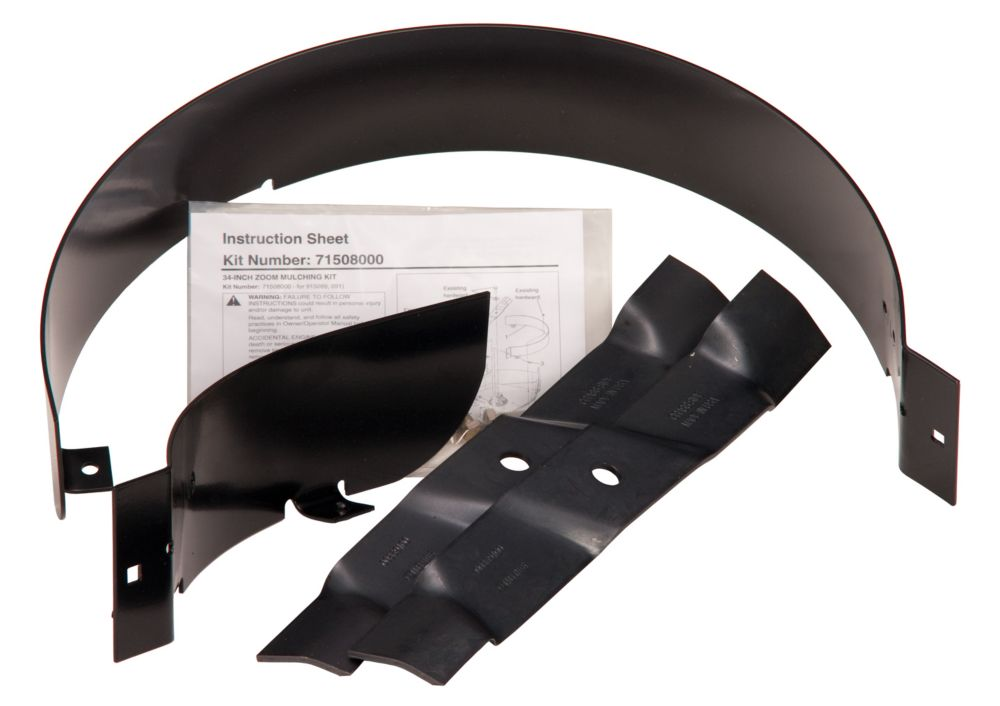 Trousse de paillage d'herbe de 122cm (48po) pour tondeuses classiques modèle Professionnel de 1...
