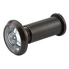 Door Viewer, Ul, 9/16 inch., 180 Degree, Classic Bronze, Solid Brass