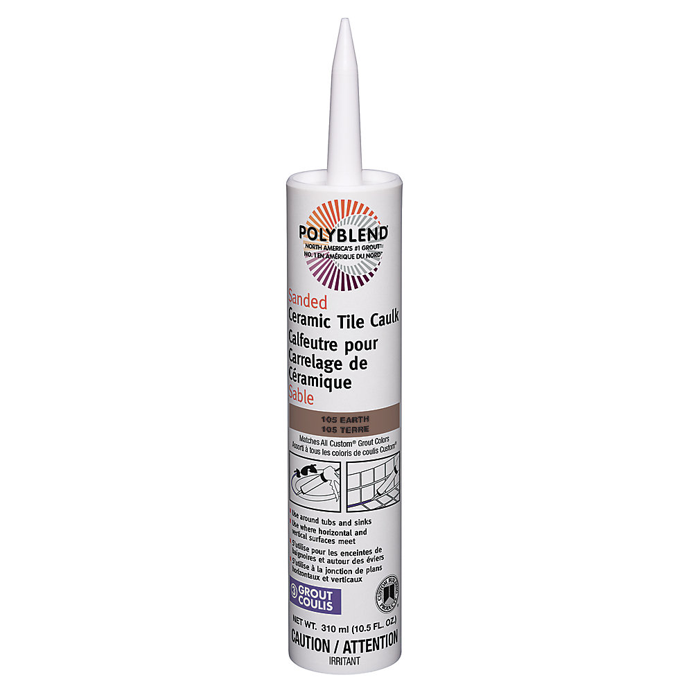 Custom Building Products Sanded Ceramic Tile Caulk 105