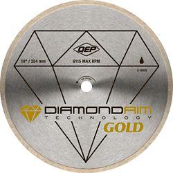 QEP 10 In. Continuous Rim Diamond Blade