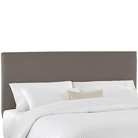 skyline furniture housse pour tte de lit double en tissu gris home depot canada