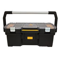 DEWALT 24-inch 2-in-1 Tote with Removable Small Parts Organizer