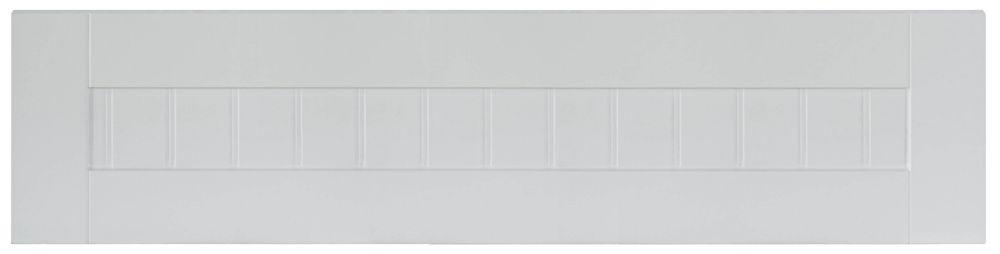 Facade de tiroir  en Thermo Odessa 36 po x 7,5 po Blanc
