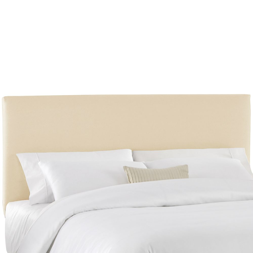 Twin Slip Cover Headboard in Natural