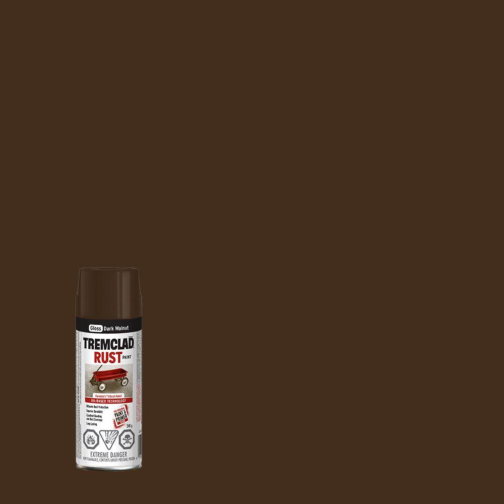 Rust Paint Dark Walnut