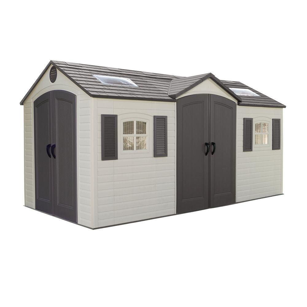 Garden Building, Dual Entry - (15 Ft. x 8 Ft.)