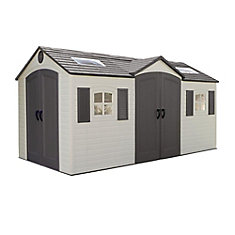 15 ft. x 8 ft. Dual Entry Garden Building