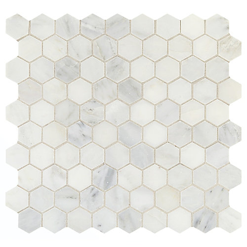Daltile Addison Place Inch X Inch X Mm Hexagon Stone - 10 inch hexagon tile