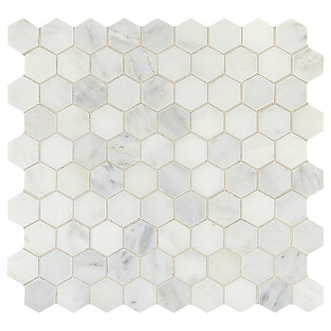 Daltile Addison Place 11 34 Inch X 12 78 Inch X 8 Mm Hexagon Stone