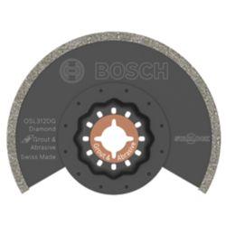 Bosch 3-1/2 inch Starlock Oscillating Multi Tool Diamond Grit Grout Blade