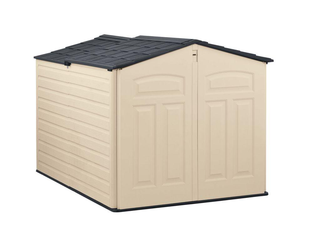 Remise à toit mobile