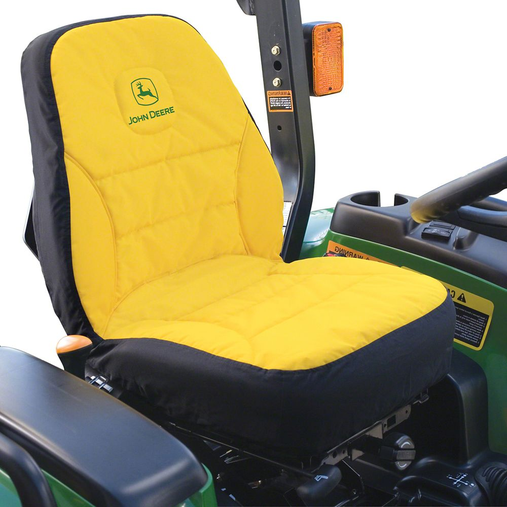 Tractor Seat And Seat Covers : John deere compact utility tractor seat cover the home