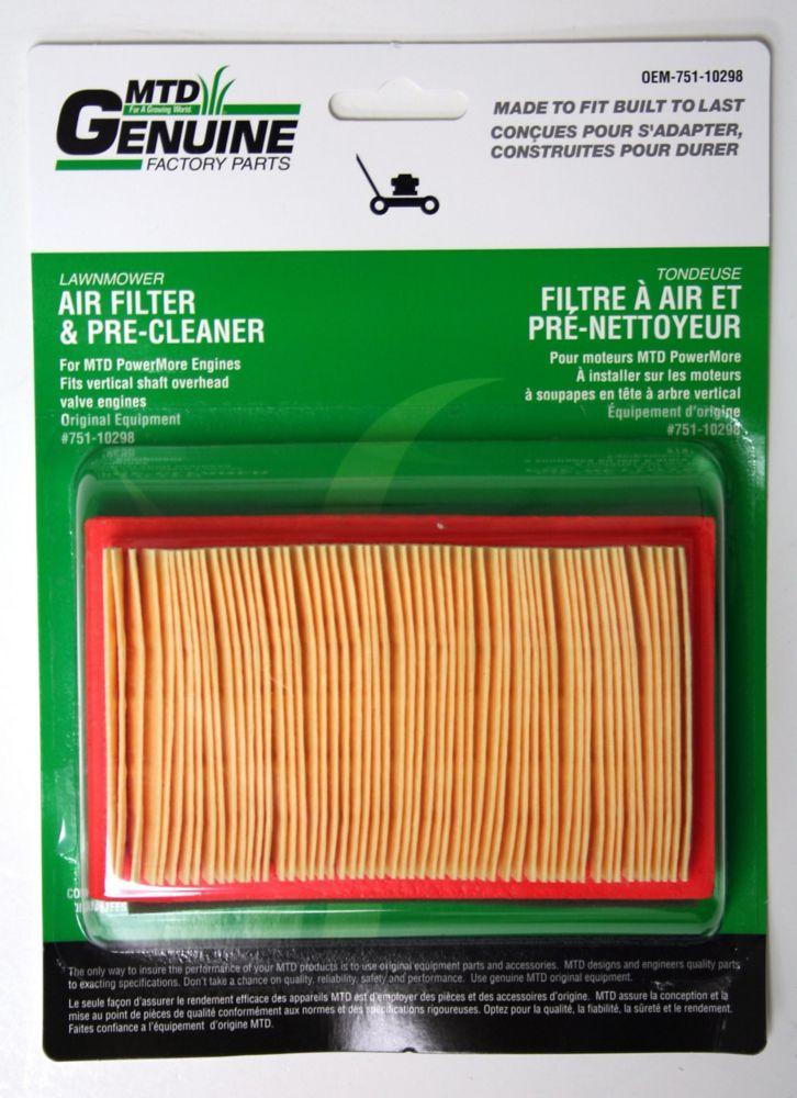 Filtre À Air Et Pré-Nettoyeur
