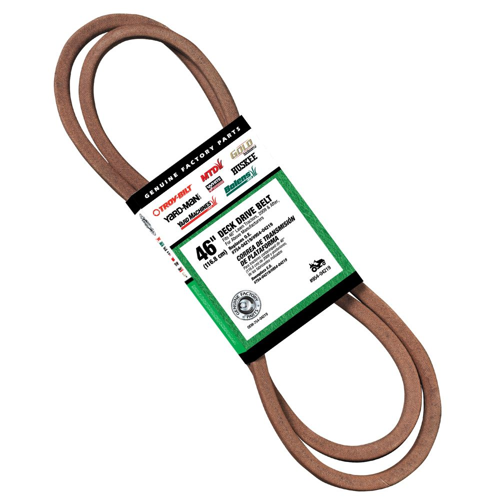 Deck Drive Belt 46 Inch Lawn Tractor