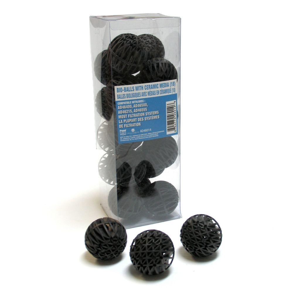 18 Bio-balls with Ceramic Media
