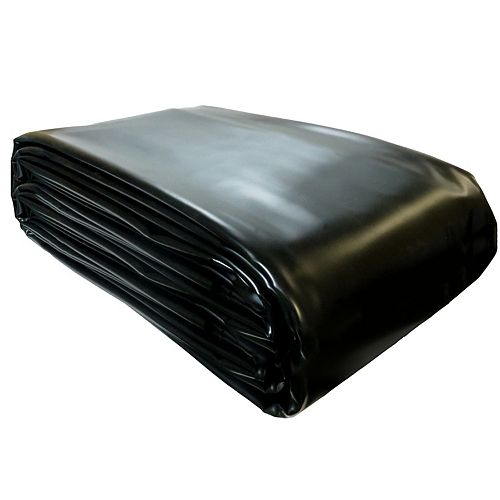 Angelo Décor 14 ft. x 20 ft. Reinforced PVC Pond Liner in Black