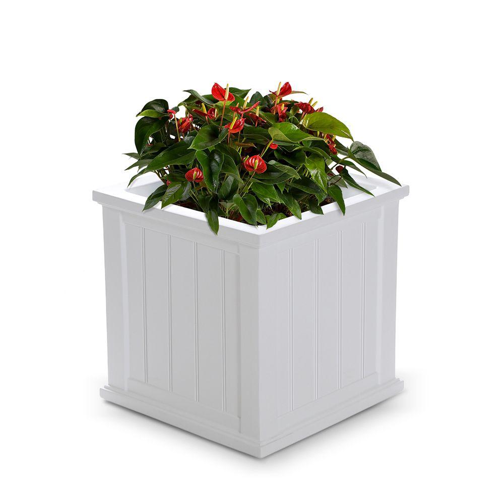Planteur de patio de Cape Cod, 20 po x 20 po