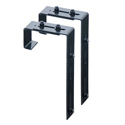 Mayne Window Box Deck Rail Steel Brackets