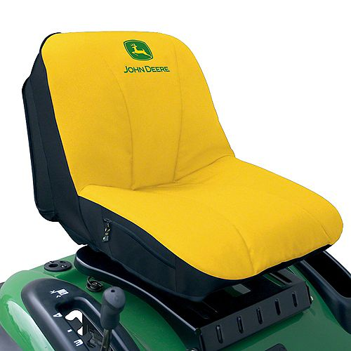 John Deere Deluxe Gator and Riding Mower Seat Cover (Large)