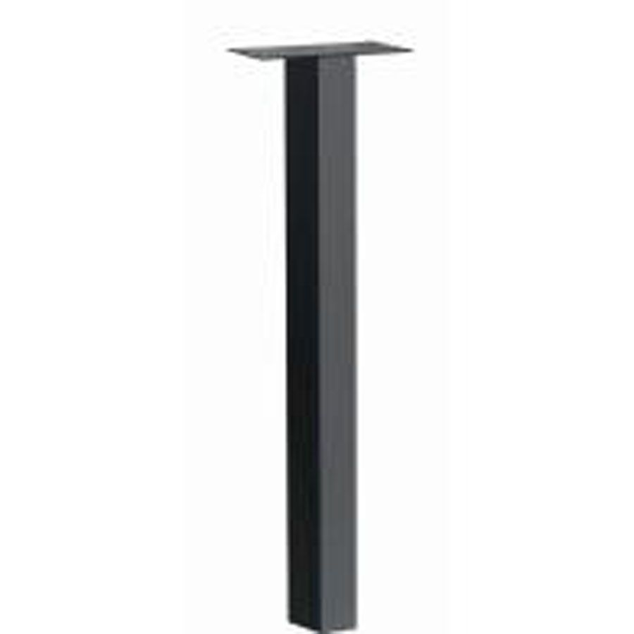 Black Standard In-ground Post