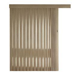 Home Decorators Collection Lattes embossées de store vertical de 11,4cm (4 ½po) , Tweed Prairie, 213cm (Dimensions réelles 210cm)