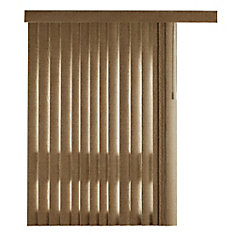 78x84 Hatch Terra 4.5 Inch Embossed Vertical Blind Kit (Actual width 78 Inch)