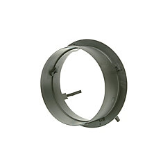 5-inch HVAC Connection Collar with no Damper