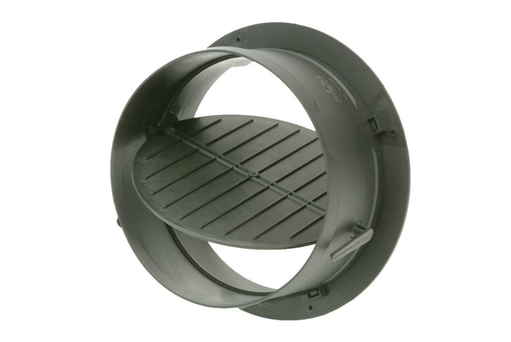8 in. HVAC Connection Collar with Damper