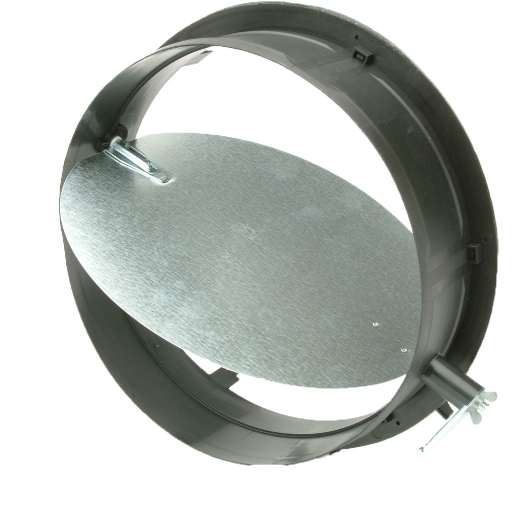 12 in. HVAC Connection Collar with Damper