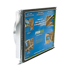 Speedi-Boot 14 in. x 24 in. x 10 in.Square to Round Adaptor Register Vent Boot with Adj. Hangers for HVAC Duct Work