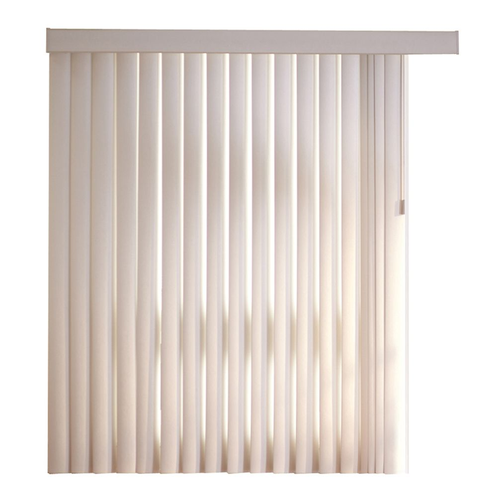 78x84 Vine Opal 4.5 Inch Embossed Vertical Blind Kit (Actual width 78 Inch)