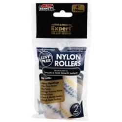 BENNETT 4 Inch. X 6mm Nylon Roller Refills (2-Pack)