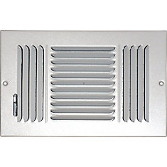 Speedi Grille 6 In X 12 In Hands Free Ceiling Or Wall