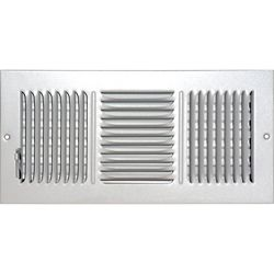 Speedi-Grille 6 in. x 14 in. Hands Free Ceiling or Wall Register Cover with 2 Way Deflection