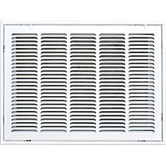 20 in. x 14 in. Filter Grille Return Air Vent Cover