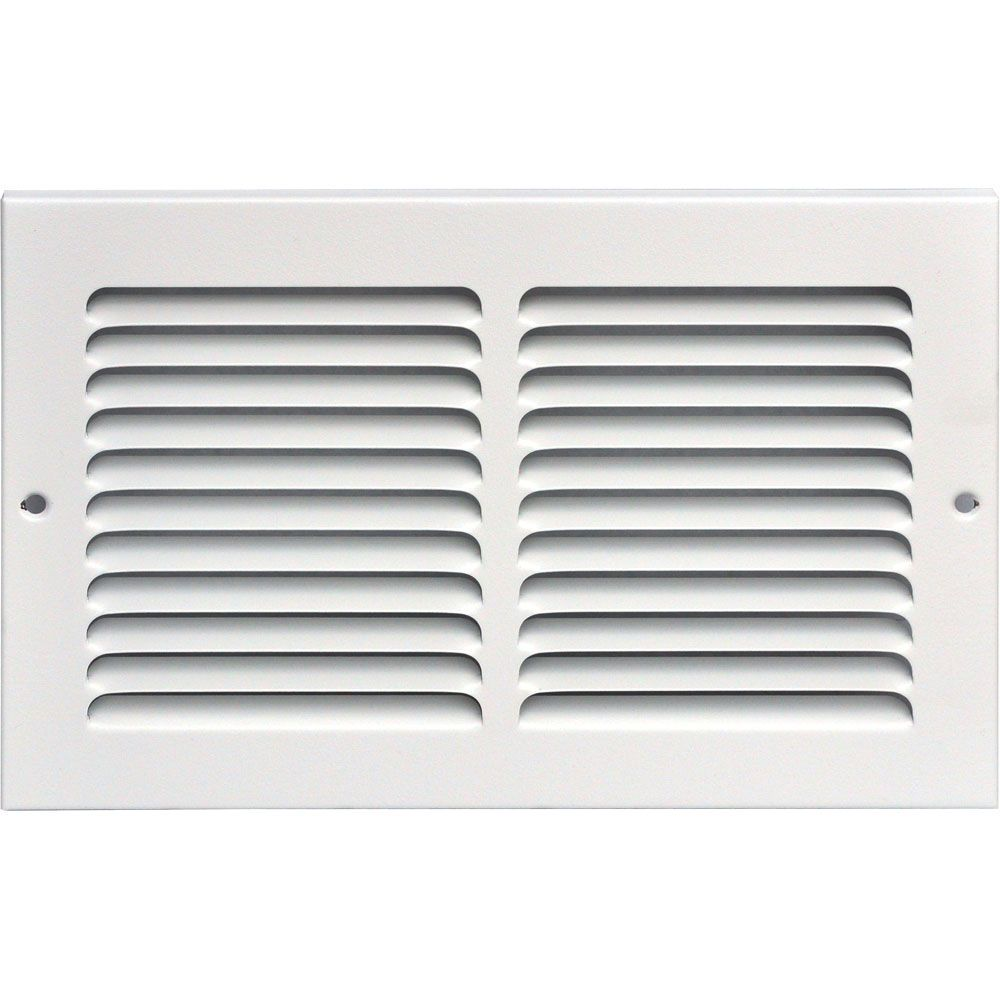 10 in. x 6 in. Return Air Grille Vent Cover