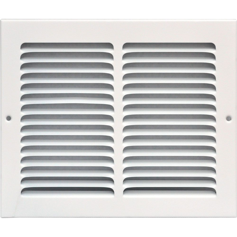 Grille dextraction d'air 10 x 8 po